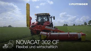 Neu: NOVACAT 302 CROSS FLOW Mähwerk