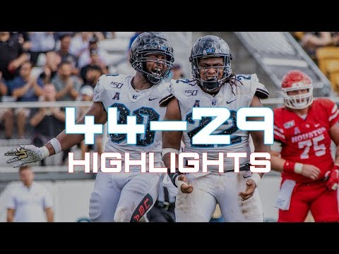 HIGHLIGHTS: UCF Football 44, Houston 29 - Space Game