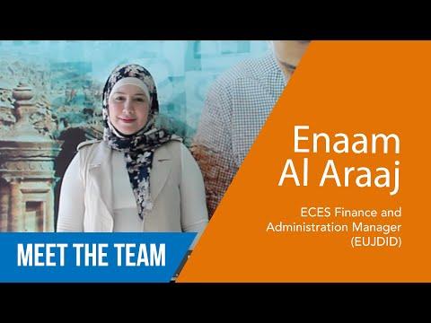 Enaam al Araaj - Responsabile Finanze ad Amministrazione EUJDID