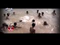 Jordar News: Children learn swimming under elders' guidanc..