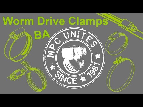 Worm Drive Clamp - MPC BA