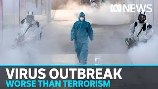 WHO warns coronavirus is 'public enemy number 1' and potentially worse than terrorism | ABC News