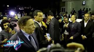 صدى البلد | عادل إمام واللواء محمد العصار في عزاء رفعت السعيد ...