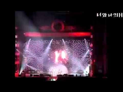 f(x) - Mr. Boogie - Krystal fainted - Lotte Duty Free Concert (FANCAM)