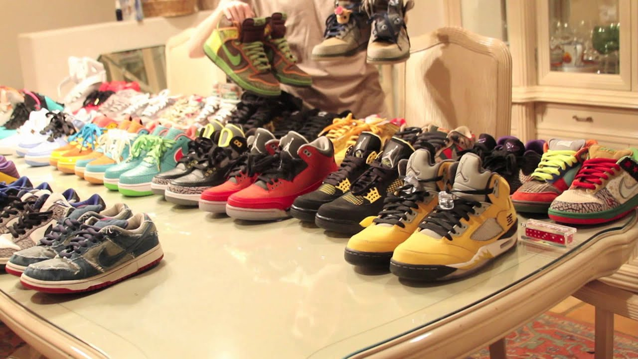 Joe Haden Shoe Closet