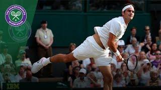 Roger Federer v Dusan Lajovic highlights - Wimbledon 2017 second round