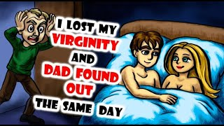 How I Lost My V Card And Dad Found Out The Same Day Animation|| Losing My V Card Animated Story