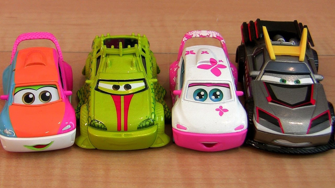 5 Cars Toon Tokyo Mater Diecast Kabuto, Kyandee, Patokaa
