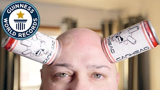 Can Head's skin sucks... literally - Meet The Record Breakers