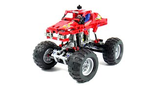 Lego Technic 42005 Monster Truck Speed Build And Review