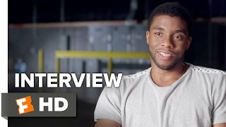 Captain America: Civil War Interview - Chadwick Boseman (2016) - Action Movie HD