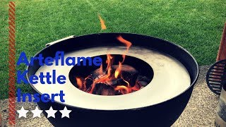 Arteflame for Weber kettle unboxing overview and test | Smash burger