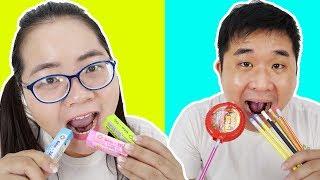 Cách Mang Kẹo Vào Lớp Troll Cô Giáo Bá Đạo Ăn Dụng Cụ Học Tập | BACK TO SCHOOL