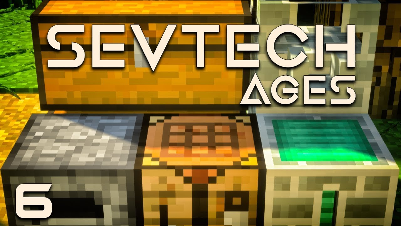 SevTech: Ages EP6 Age 1 Crafting Table Upgrade + Prospecting Ore