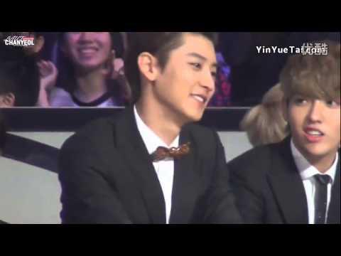EXO Krisyeol - Bum Bum Bum ~~ Σ( ̄。 ̄ノ)ノ(kris&chanyeol)