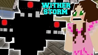 Minecraft: WITHER STORM (MUTANT WITHER TAKES OVER MINECRAFT!)