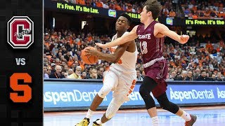Colgate vs. Syracuse Basketball Highlights (2017-18)
