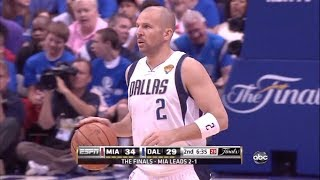 Jason Kidd - 2011 NBA Finals Highlights vs Miami Heat