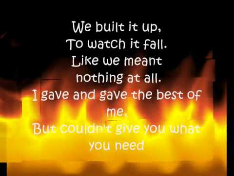 I Cant Hate You Anymore - Nick Lachey (LYRICS)
