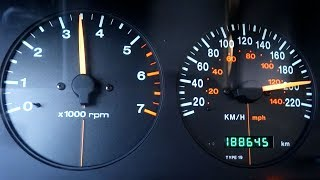Jeep Grand Cherokee 5.9l Acceleration 0-200 Speed Test