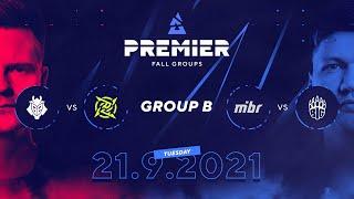 BLAST Premier Fall Groups: G2 vs. NIP, MIBR vs. BIG | Group B, Day 2