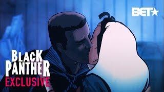 Black Panther, Ep. 6 - See Djimon Hounsou (T'Challa) Save Wakanda, Kiss Storm