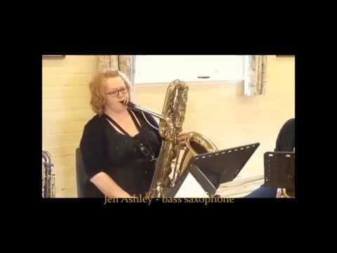 Mozart Fugue in G minor - arranged for saxophone trio