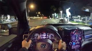 2021 RAM 1500 TRX POV Night Drive (3D Audio)(ASMR)