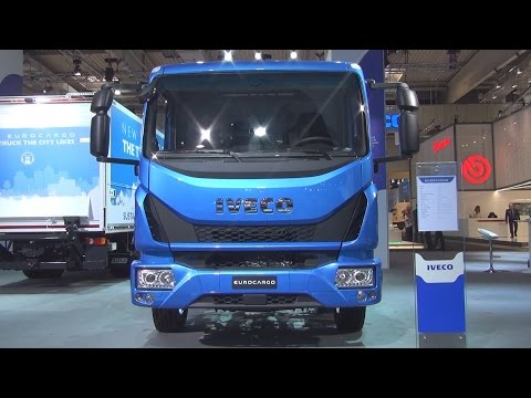 Iveco Eurocargo ML 120 EL 21/P CNG Chassis Truck (2017) Exterior and Interior in 3D