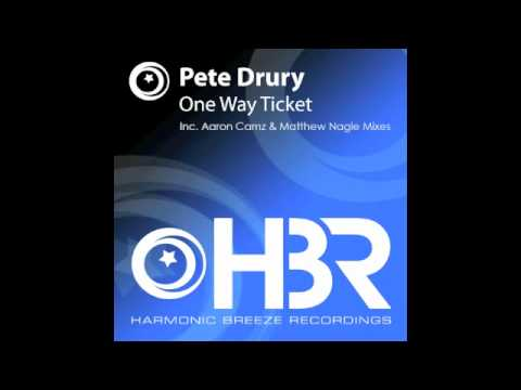 Pete Drury - One Way Ticket (Matthew Nagle Remix) [Harmonic Breeze]