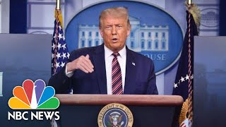 Live: Trump Holds News Conference At The White House   NBC News