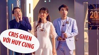 """Cris Phan """"ghen lồng lộn"""" khi Huy Cung thân mật với Mai Quỳnh Anh"""