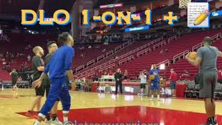 [HD] More D'Angelo Russell (DLo) 1-on-1 + autographs before Warriors (2-5) at Houston Rockets (4-3)