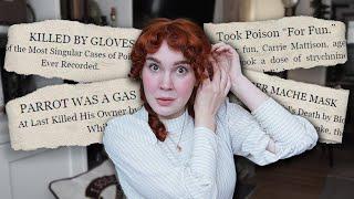 Let's Talk About WEIRD Victorian Deaths (happy holidays?)