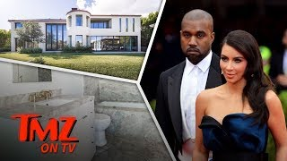 Inside Kim Kardashian & Kanye West's Old Bel-Air Mansion! | TMZ TV