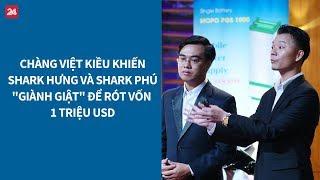 Shark Tank VN tập 12: Chàng Việt kiều gọi vốn thành công 1 triệu USD| VTV24