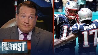 Patriots are going to be tough to beat with Josh Gordon and AB — Mangini | NFL | FIRST THING FIRST