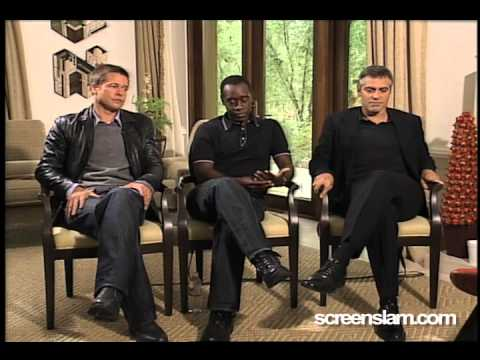 Ocean's Twelve: Brad Pitt, Don Cheadle and George Clooney Interview