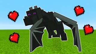 How To Tame the Ender Dragon in Minecraft Pocket Edition (Rideable Dragon Addon)