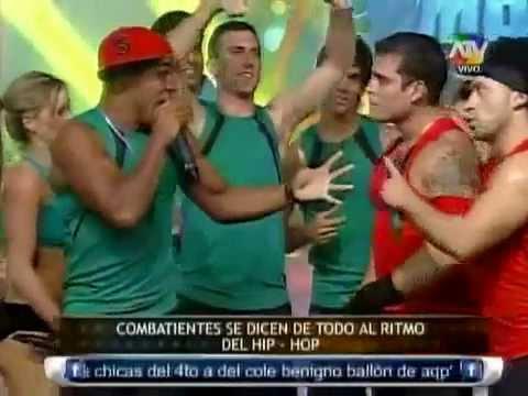 reto de  hip hop entre los combatientes 31/05/2013 - COMBATE ATV