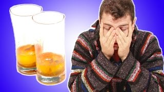 Hungover People Try Hangover Cures From Around The World