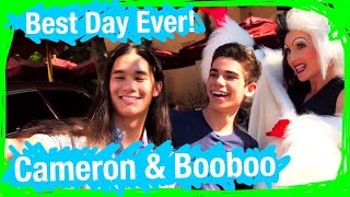 Booboo and Cameron From Disney's Descendants Go on an EPIC SCAVENGER HUNT | BDE | WDW Best Day Ever