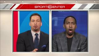 Stephen A  Smith & Chris Broussard Yell At Each Over The Kevin Durant Signing ¦ 2016 NBA Free Agency