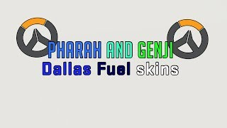 [Overwatch] Buying Pharah & Genji Dallas Fuel skins!