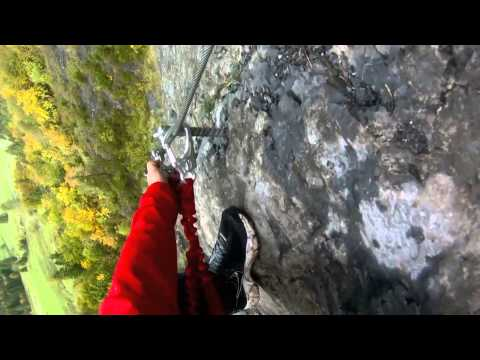 Adenture Travel World Summit 2012 - Day of Adventure: Via Ferrata Switzerland
