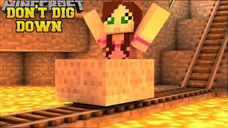 MINECRAFT: DON'T DIG STRAIGHT DOWN! - 10 WAYS TO SURVIVE - Custom map [2]
