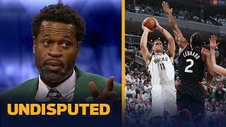Brook Lopez was the biggest reason Bucks beat Raptors in Game 1 — Stephen Jackson | NBA | UNDISPUTED