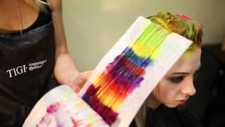 Creating colorful hair w/ Joico and Pravana