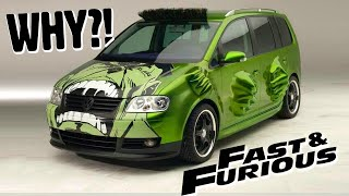 The WORST Cars of The Fast and Furious Movies