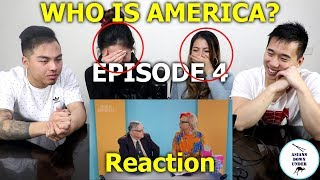 Who Is America? Episode 4 ft. Joe Arpaio | Reaction - Australian Asians